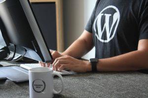 Tampilan Website Menggunakan WordPress