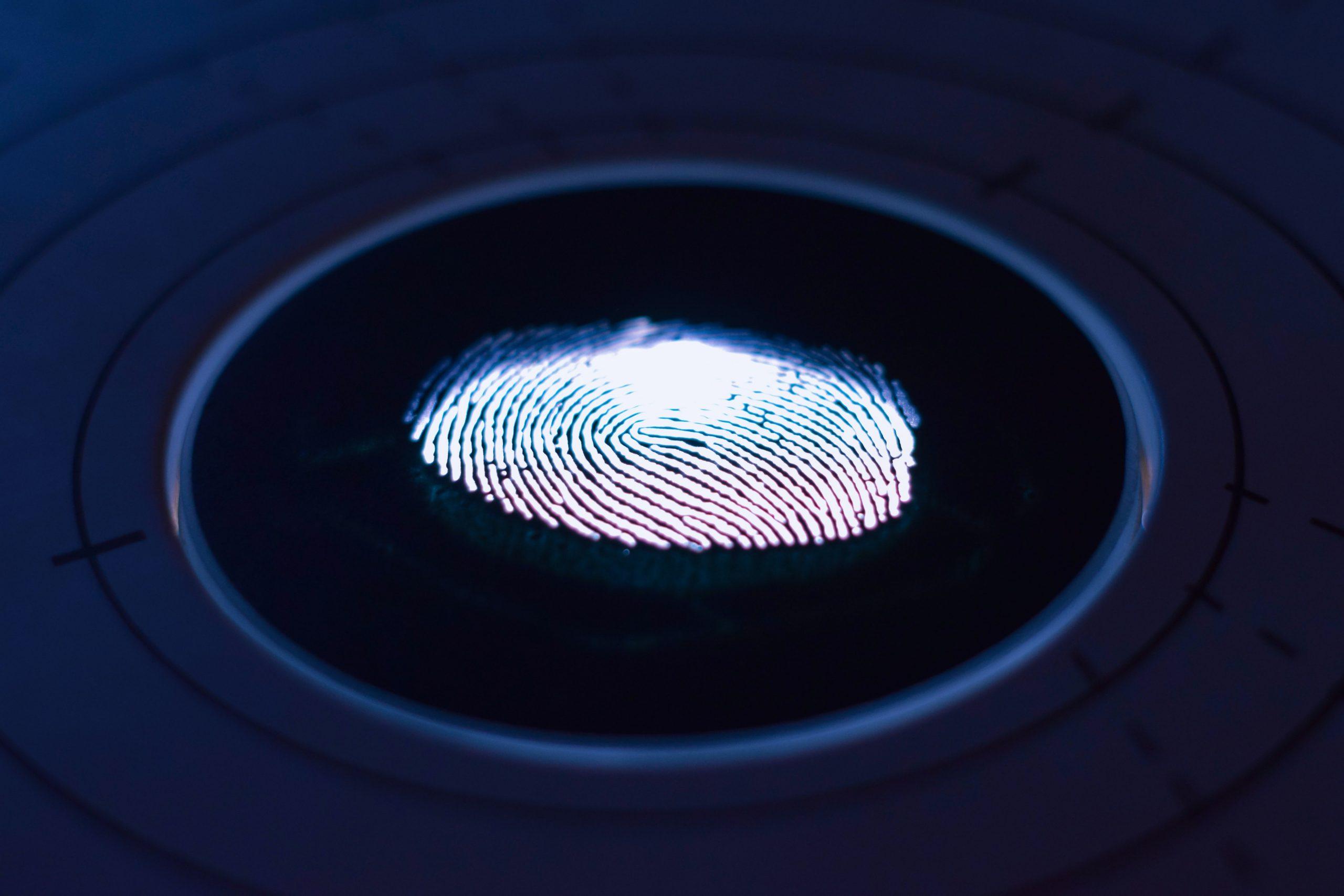 Sejarah teknologi sidik jari